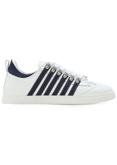 Dsquared2 251 Leather & Denim Low-top Sneakers