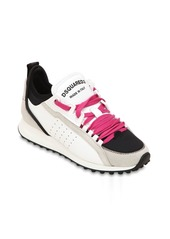 Dsquared2 30mm 2 Run Suede & Neoprene Sneakers
