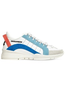 Dsquared2 30mm 551 Leather & Suede Sneakers