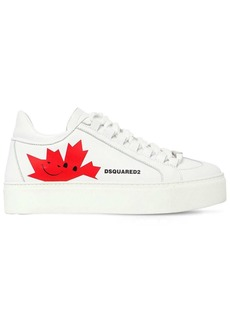 Dsquared2 35mm Canadian Team Leather Sneakers