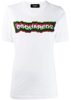 Dsquared2 3D-effect logo print T-shirt