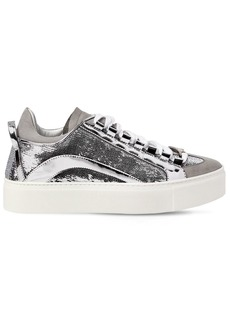 Dsquared2 40mm 551 Sequined Leather Sneakers