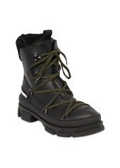 Dsquared2 40mm Faux Leather Lace-up Hiking Boots