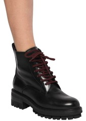 Dsquared2 50mm Evolution Tape Leather Boots