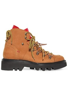 Dsquared2 50mm Nubuck Hiking Boots