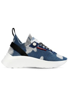 Dsquared2 50mm Speedster Knit Pull-on Sneakers