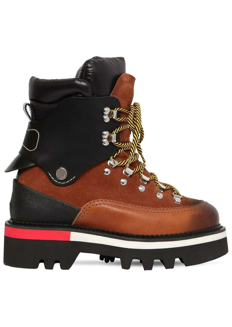 Dsquared2 50mm Suede & Nylon Hiking Boots