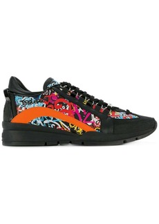 Dsquared2 551 printed sneakers
