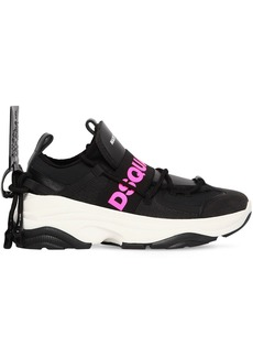Dsquared2 60mm D Bumpy 1 Logo Neoprene Sneakers