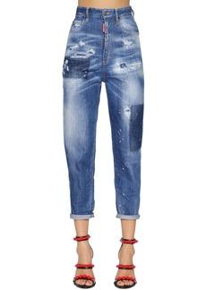 Dsquared2 80's Bleached Cotton Denim Jeans