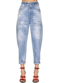 Dsquared2 80's Light Washed Cotton Denim Jeans