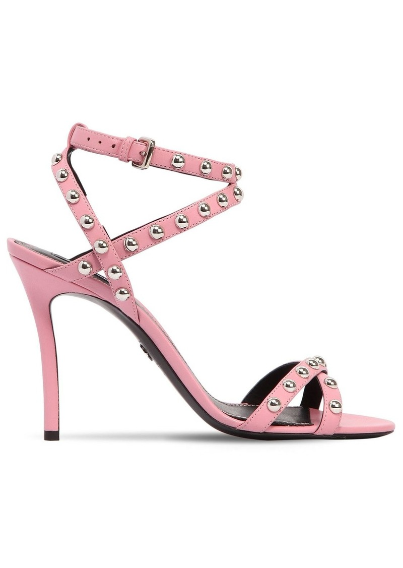 Dsquared2 90mm 50's Rock Studded Leather Sandals
