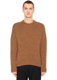 Dsquared2 Alpaca & Wool Blend Knit Sweater