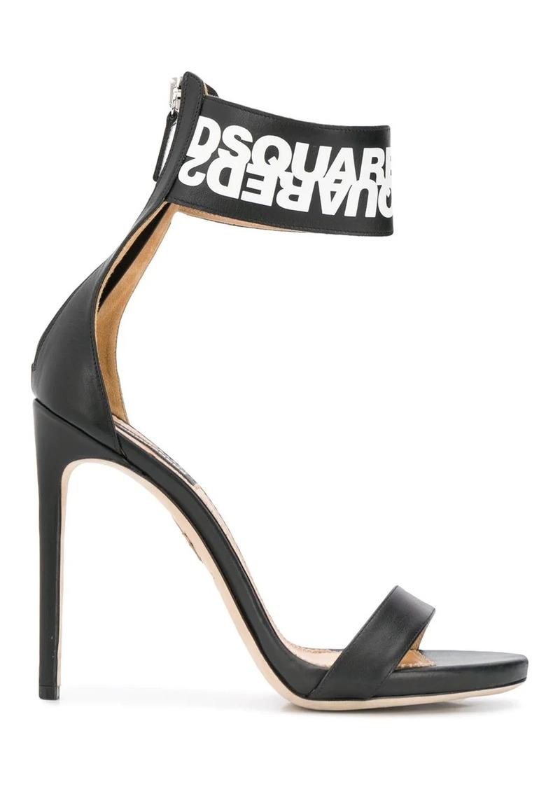 Dsquared2 ankle strap stiletto sandals