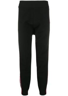 Dsquared2 appliqué stripe wool track pants