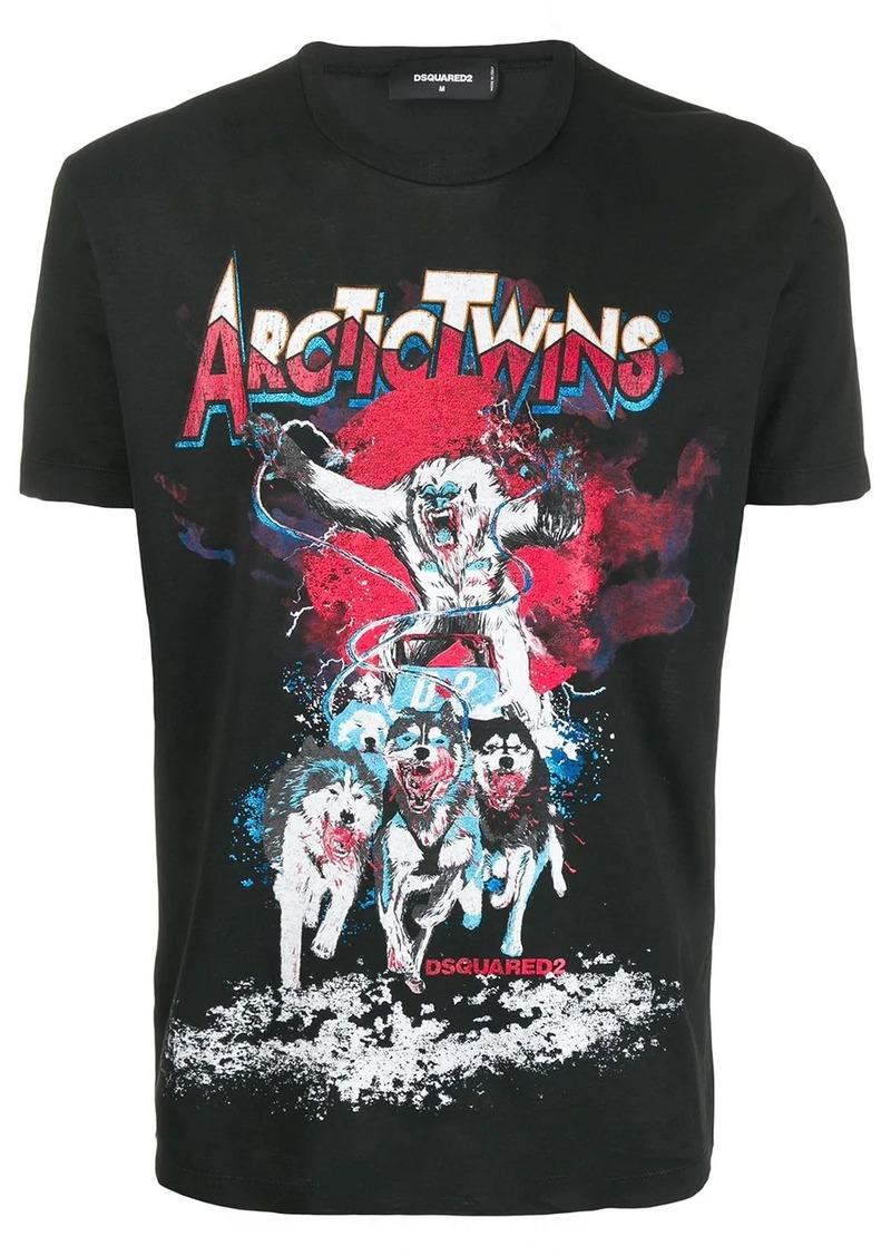 Dsquared2 Arctic Twins T-shirt