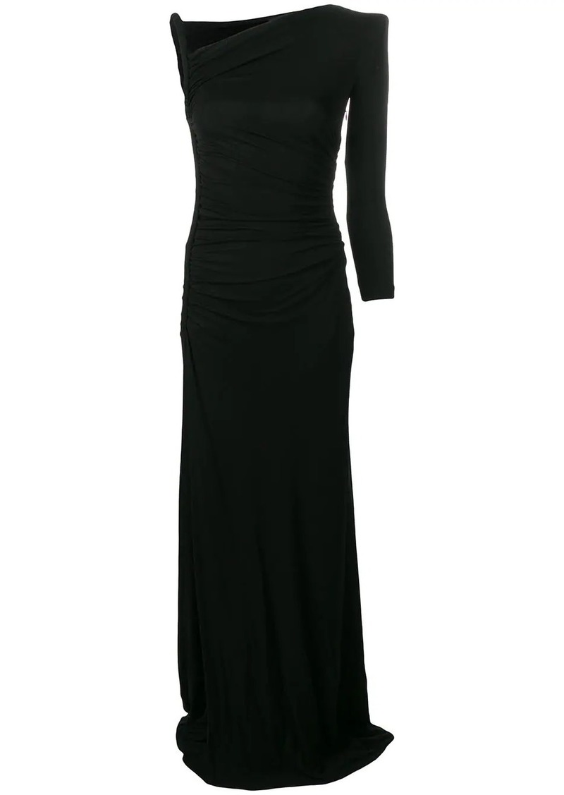 Dsquared2 asymmetric long dress