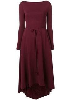 Dsquared2 asymmetric midi dress