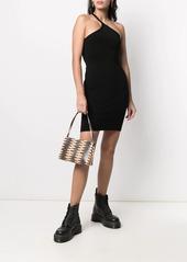 Dsquared2 asymmetric strap mini dress
