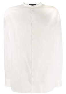 Dsquared2 band collar shirt