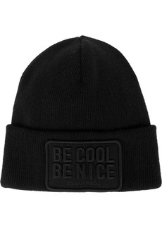 Dsquared2 Be Cool Be Nice beanie hat