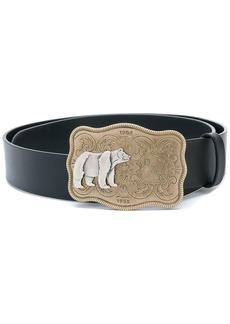 Dsquared2 bear buckle belt