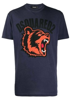 Dsquared2 bear print logo T-shirt