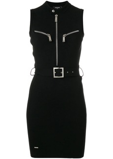 Dsquared2 belted sleeveless dress