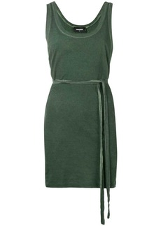 Dsquared2 belted tank dress