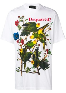 Dsquared2 birds motif T-shirt