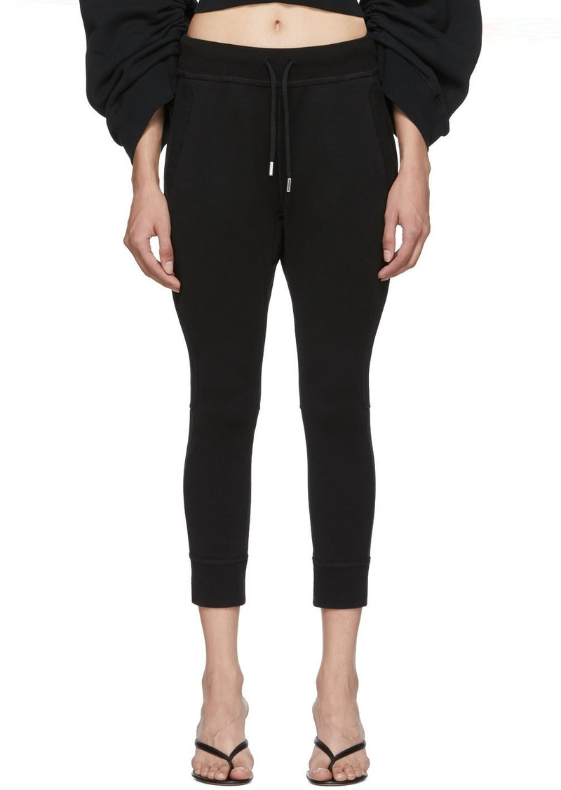 Dsquared2 Black Classic Fit Lounge Pants