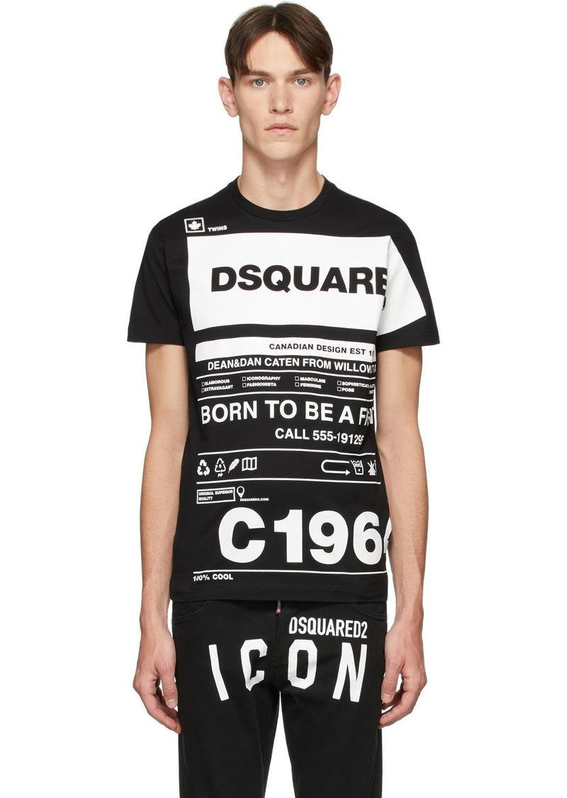 Dsquared2 Black Cool Fit T-Shirt