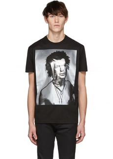 Dsquared2 Black Disco Punk Cool Fit T-Shirt