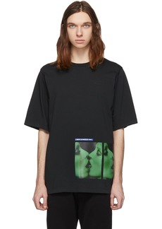 Dsquared2 Black Mert & Marcus 1994 Edition Dyed T-Shirt