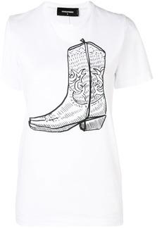 Dsquared2 Boot print T-shirt