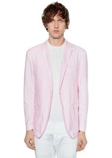 Dsquared2 Boyfriend Fit Cotton Oxford Jacket