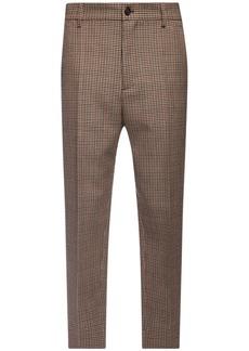 Dsquared2 Brad Wool Mini Houndstooth Pants