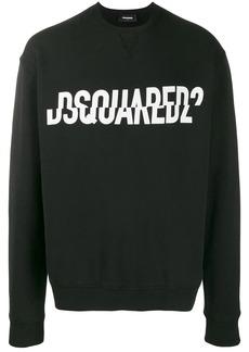 Dsquared2 broken logo print sweatshirt