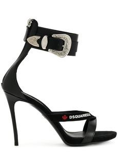Dsquared2 buckle embellished sandals