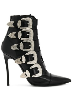 Dsquared2 buckled heeled boots