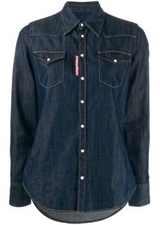 Dsquared2 button-front denim shirt