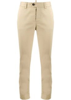 Dsquared2 buttoned waist cropped trousers