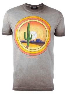 Dsquared2 cactus sunset T-shirt
