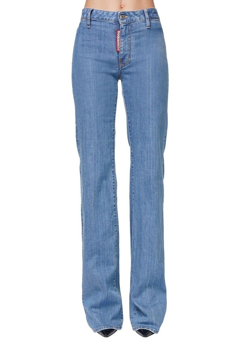 Dsquared2 Camilla Angel Flared Denim Jeans