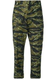 Dsquared2 camouflage print culottes