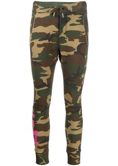 Dsquared2 camouflage print track pants