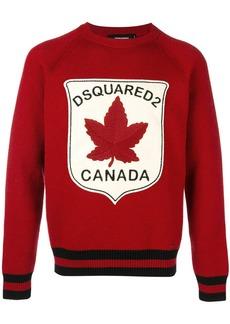 Dsquared2 Canada patch jumper