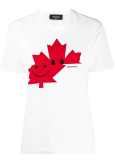 Dsquared2 Canadian leaf T-shirt