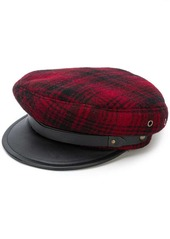 Dsquared2 casual checked hat