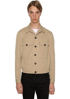 Dsquared2 Casual Cotton Twill Jacket